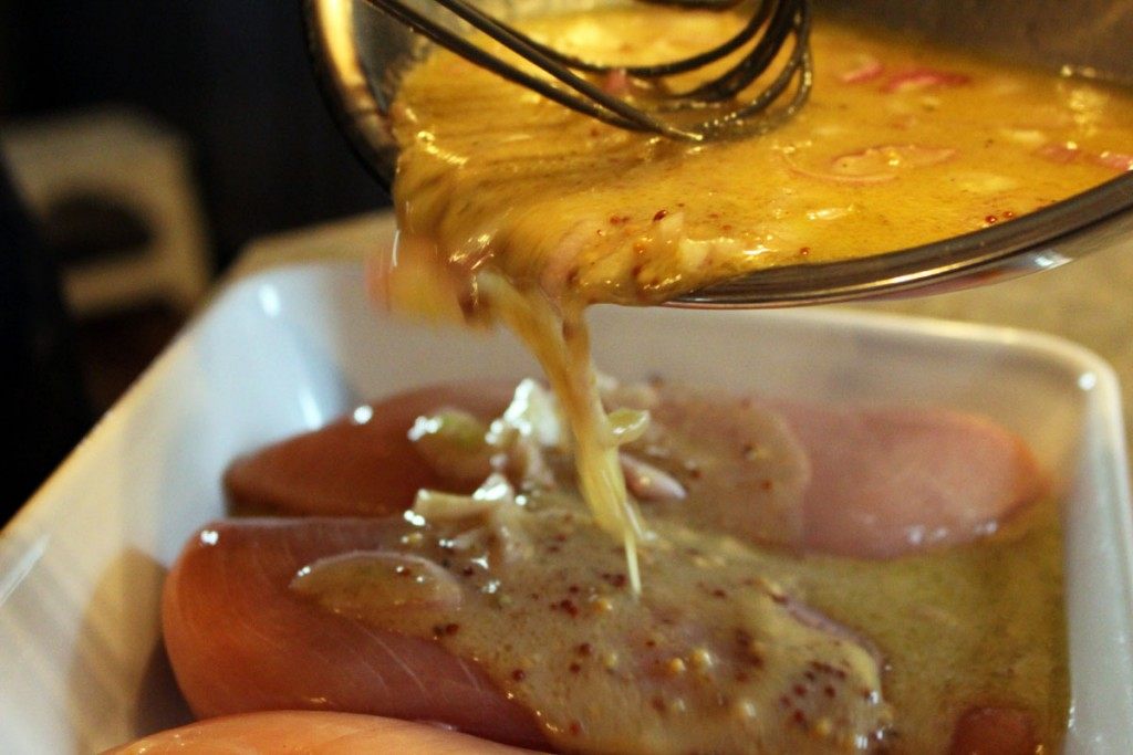 Mrs. McGarrigle's Many Mustard Chicken Marinade