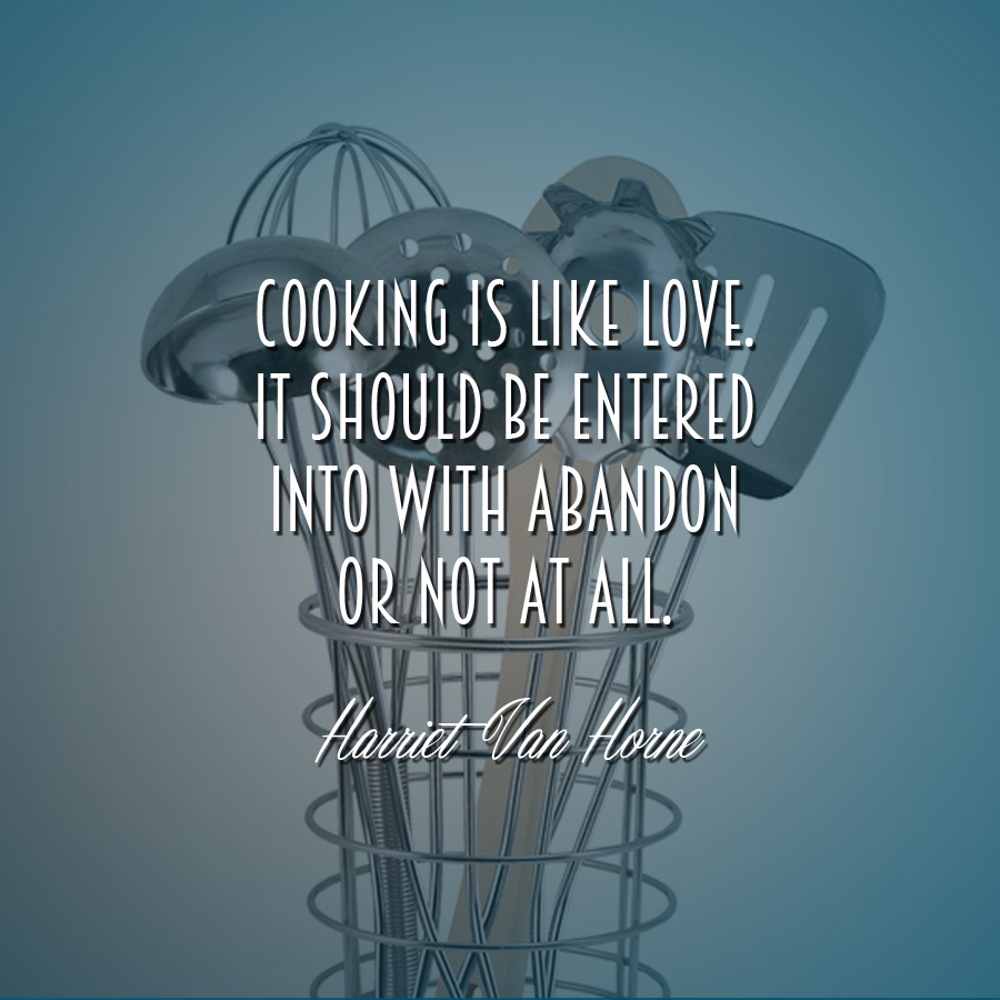 Mrs. McGarrigle's Top 10 Favourite Cooking Quotes