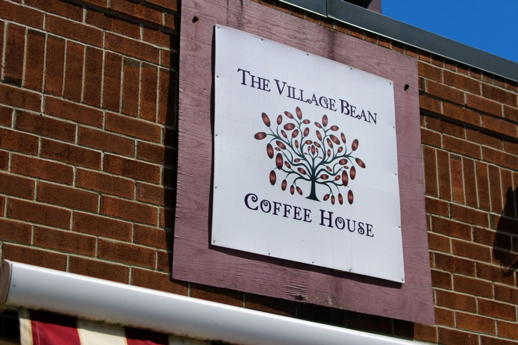 The Village Bean in Merrickville, Ontario