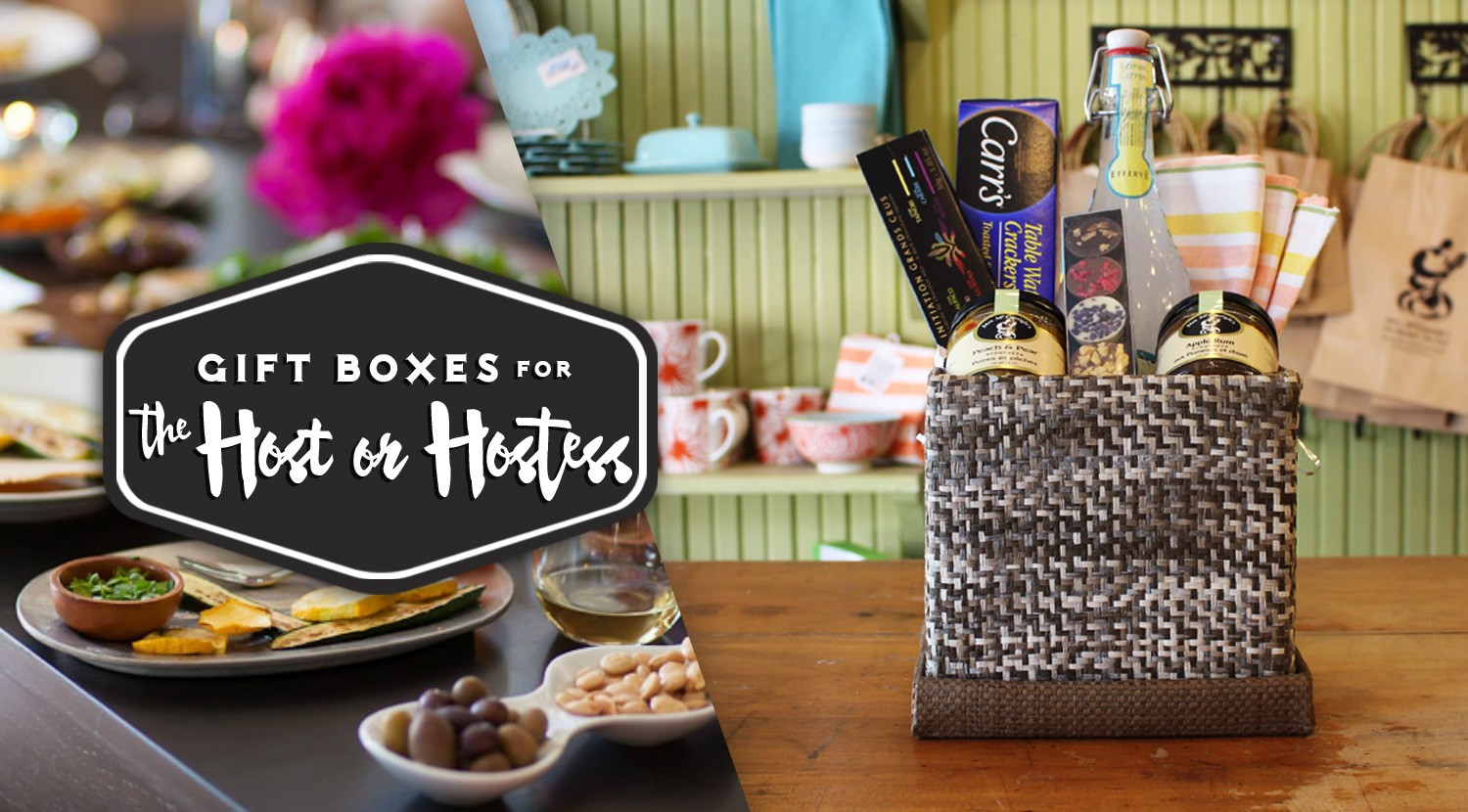 Mrs. McGarrigle's Gift Box for the Host or Hostess