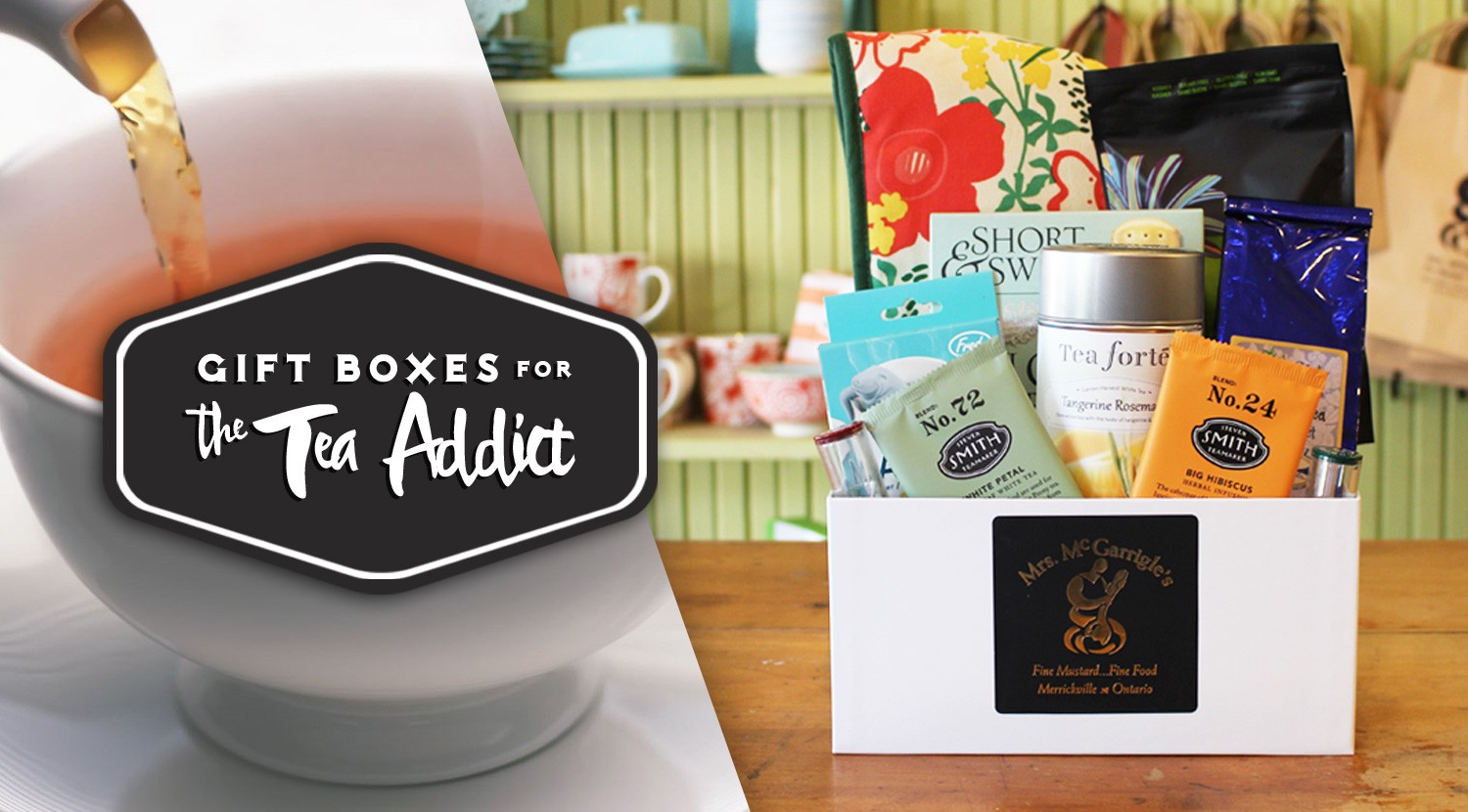 Mrs. McGarrigle's Gift Box for the Tea Addict