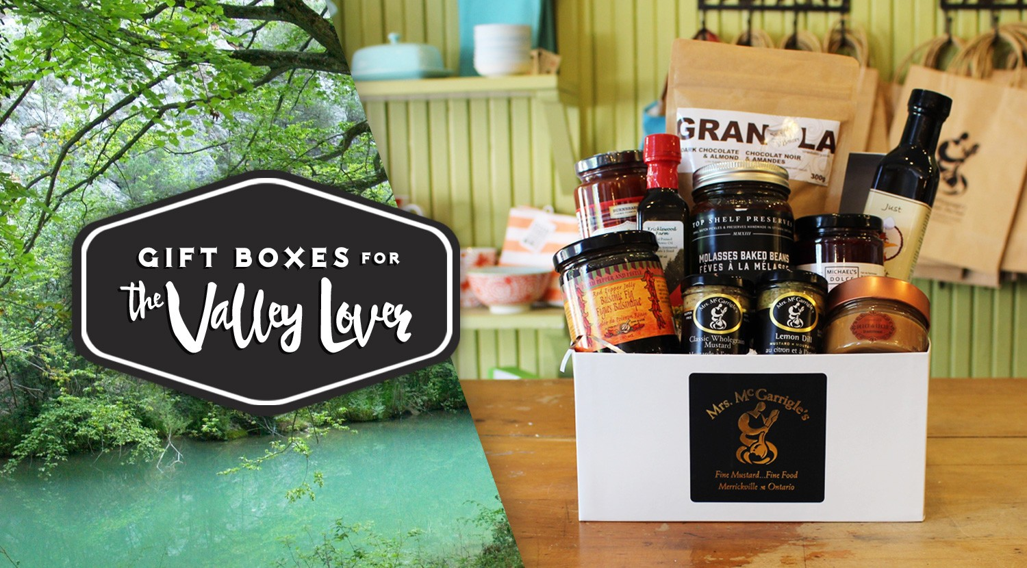 Mrs. McGarrigle's Gift Box for the Valley Lover